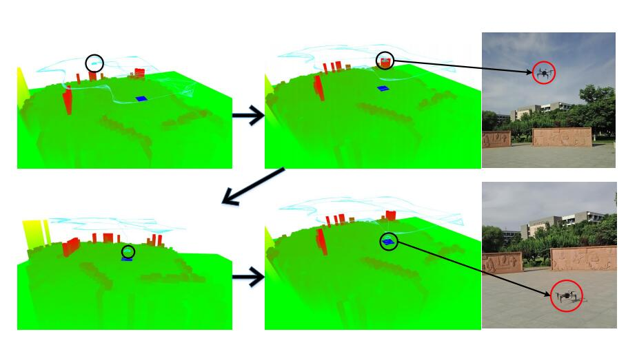 Monocular Vision SLAM-Based UAV Autonomous Landing in Emergencies and Unknown Environments