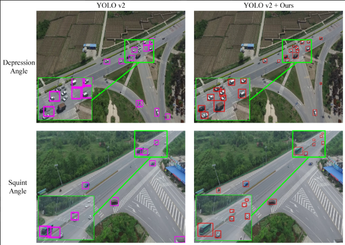 Visual Detail Augmented Mapping for Small Aerial Target Detection